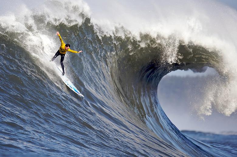 Позиции на волне в серфинге