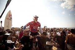 Келли Слейтер побеждает в Португалии