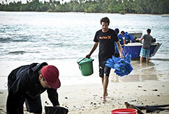 Спасательная операция на островах Ментавай