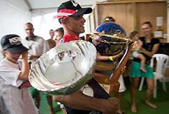 Слейтер в третий раз стал обладателем награды Laureus World Action Sports Award