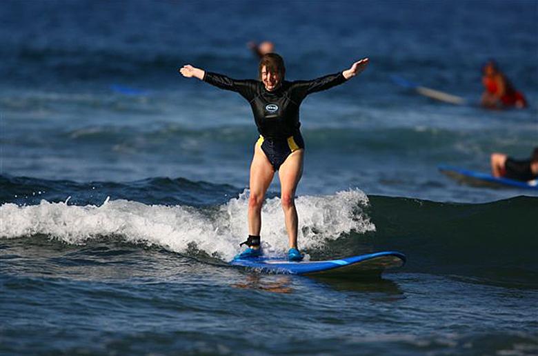 Обучение сёрфингу слепых?