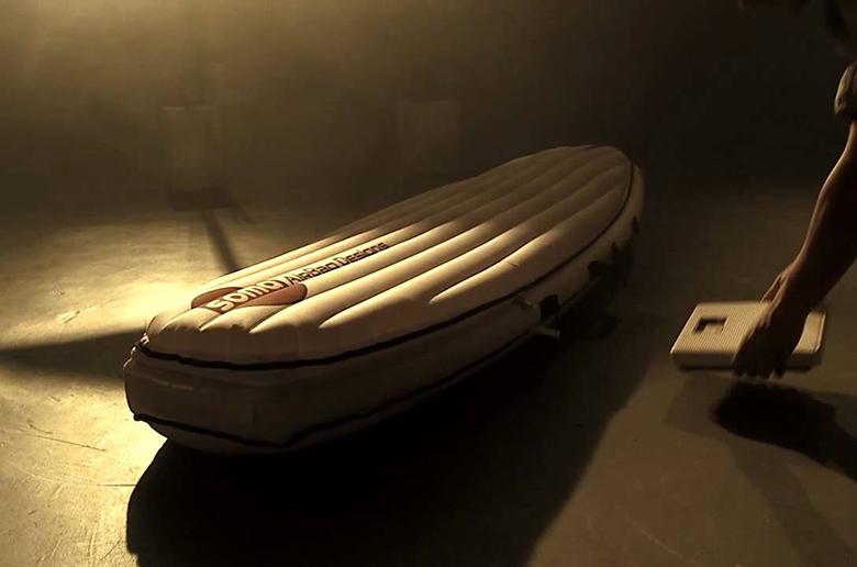 SOMA AIRBAG: полевые испытания продвинутого чехла для серфборда
