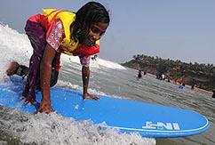 Серфинг в Варкале