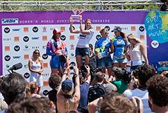 Гилмор обошла новоиспечённую чемпионку мира в Roxy Pro