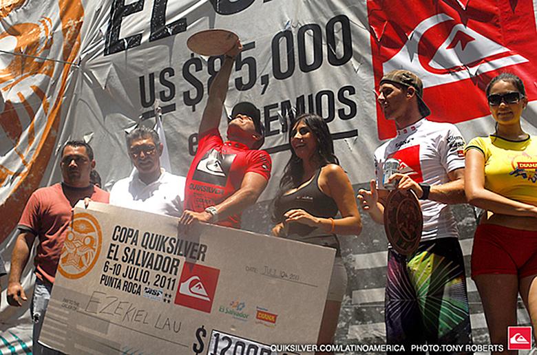 Иезекииль Лау победил в ASP 4-Star Copa Quiksilver El Salvador