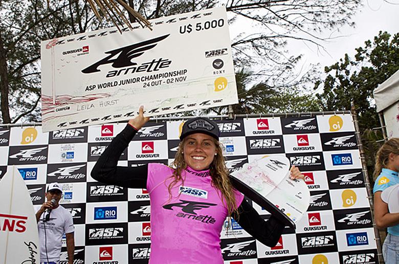 На Arnette ASP Women's World Junior не было равных Лейле Херст