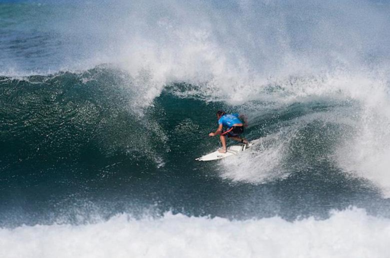 Тадж Берроу - победитель Reef Hawaiian Pro
