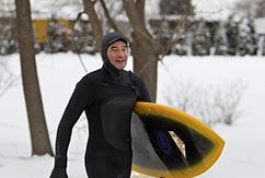 Арестован серфер из Чикаго