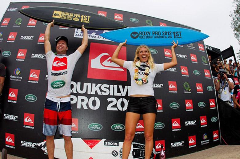Берроу и Гилмор победили на Quiksilver и Roxy Pro Gold Coast