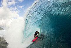 Делаем качественные снимки внутри волны