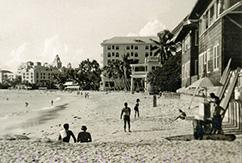 На волнах Waikiki - винтажное видео
