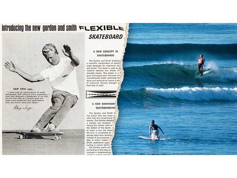 Фил Эдвардс и Майк Хансон — реклама первых продуктов Makaha