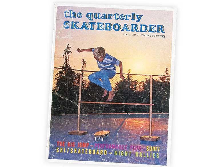 Первая обложка Quarterly Skateboarder