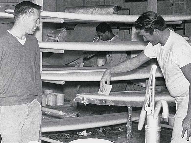Хоби Альтер создал крупнейший серф / скейт бренд в начале-середине шестидесятых годов. Фото: Лерой Граннис