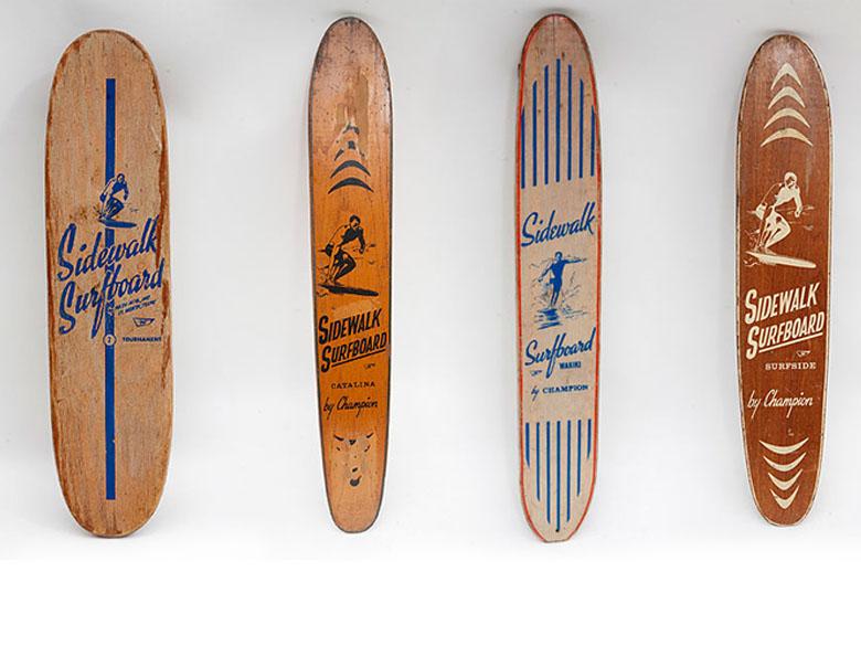 Доски 60-х. Фото: Люсия Гриджи / The Skateboard Book