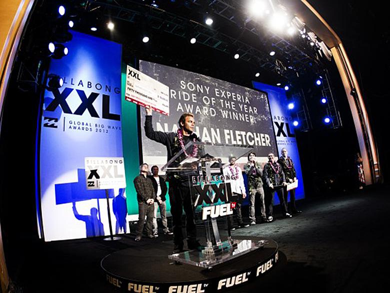 Натан Флетчер увез домой три награды. Фото: Ван Свей
