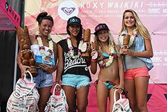 Кристал Дзигас не было равных на Roxy Waikiki Classic