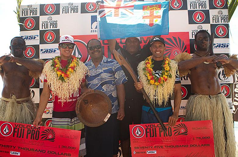 Келли Слейтер победил в Volcom Fiji Pro, Мик Фэннинг лидирует в рейтинге ASP