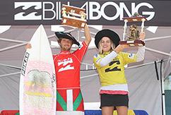 Висенте Ромеро и Шанель Балард увезли золото с Billabong Sopelana Pro Junior