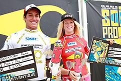 Рамзи Бокаим и Бьянка Бьютендаг - победители Sooruz Royan Atlantique Pro Junior