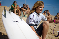 Ребекка Вудс готовится к девятому сезону в чемпионате мира ASP <br>среди женщин