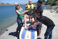 «Разрушители мифов» тестируют доску для серфинга на реактивной тяге