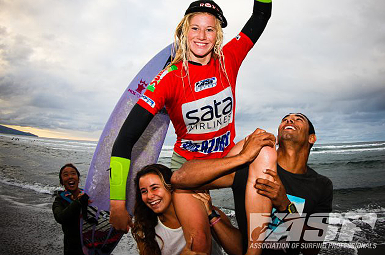 Бьянка Бьютендаг одержала победу на SATA Airlines Azores Pro