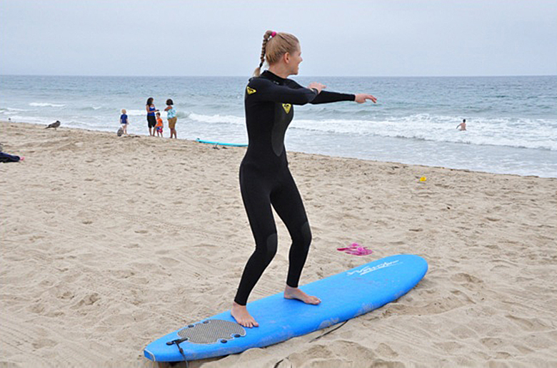Как я познакомилась с миром серфинга