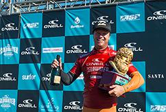 Тадж Барроу победил на O'Neill Coldwater Classic
