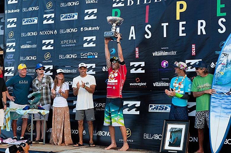 Джоэль Паркинсон – чемпион мира ASP 2012