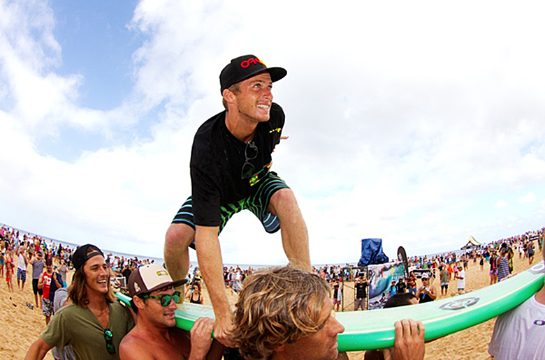 Себастьян Зейц – победитель Vans Triple Crown of Surfing 2012