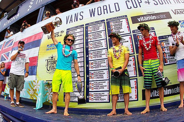 Адам Меллинг одержал победу на Vans World Cup и получил место в ASP WCT