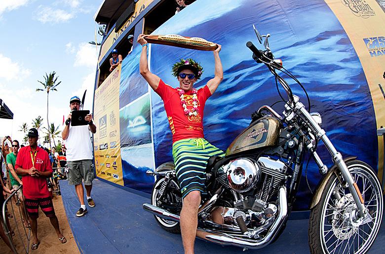 Зейц победил на Reef Hawaiian Pro и закрепил за собой место в ASP Top 34 на 2013 год