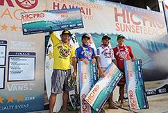 Санни Гарсия одержал победу на ASP 4-Star HIC Pro в Sunset Beach