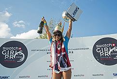 Келия Мониз стала чемпионкой мира по лонгборду на чемпионате серии ASP