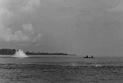 Взрывы на Ментавайских островах