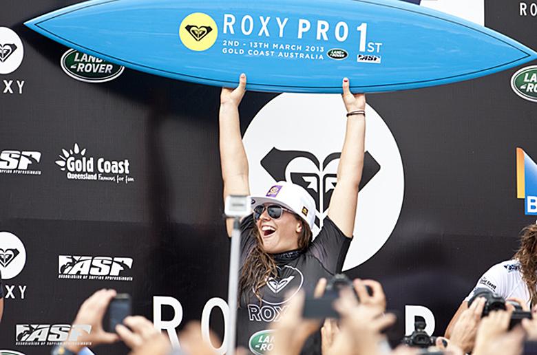 Тайлер Райт обошла Салли Фитцгиббонс на Roxy Pro Gold Coast 2013
