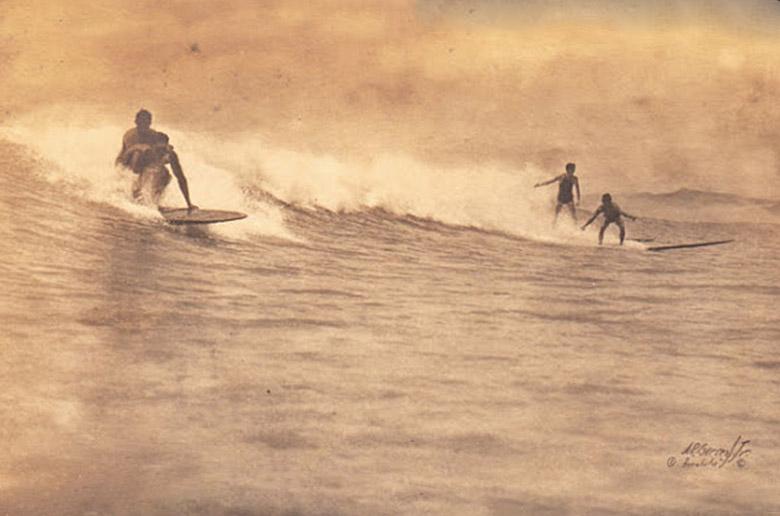 История о серфинге выставлена  на аукцион