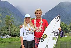 Уильяму Алиотти не было равных на Tahiti Nui Pro Junior.