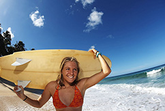 Стефани Гилмор ломает стереотип о серфинге