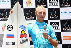Сергей Расшиваев представил Россию на международных соревнованиях ISA WSG 2013 в Панаме