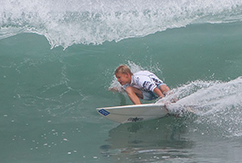 Юный Никита Авдеев и его выход в международный сёрфинг