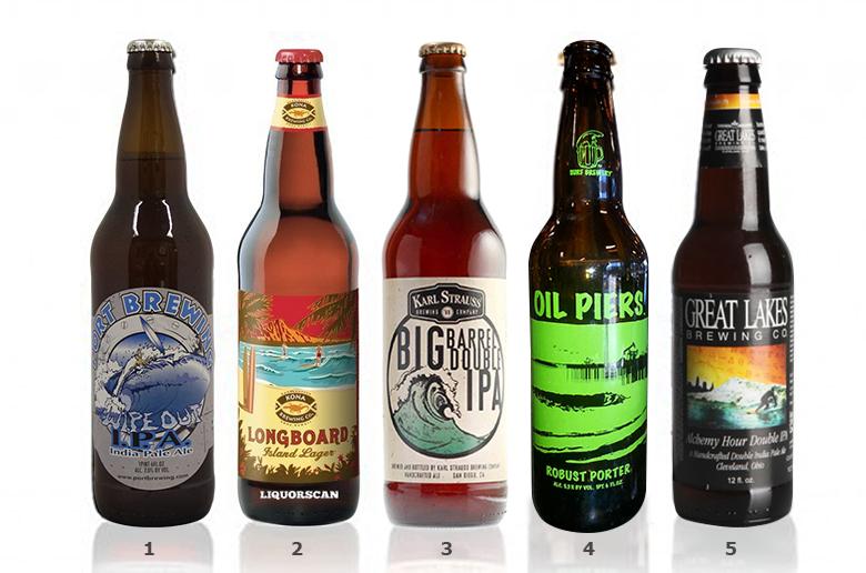 Пиво для любителей серфинга