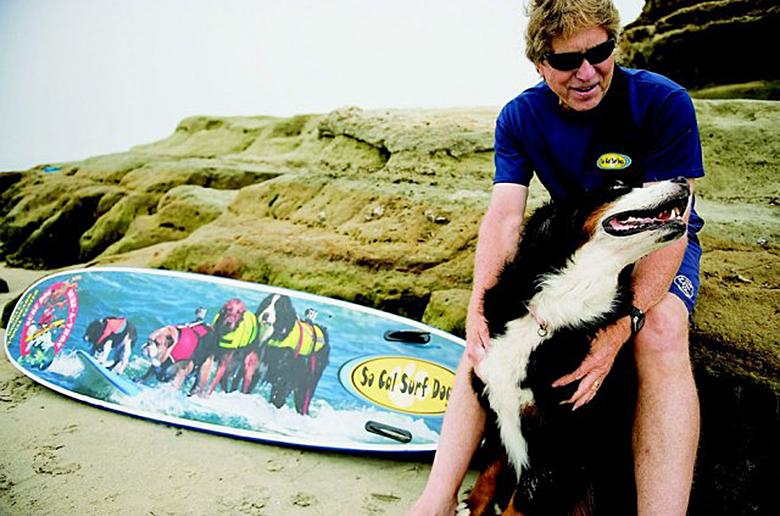 Любитель дог-серфинга превращает хобби в нечто большее