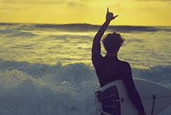 Людмила Мельникова: океан, серфинг, Австралия