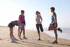 5 упражнений на растяжку перед серфингом