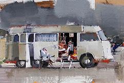 Пабло Угартетеа: картины - композиции из фотографий и рисунков