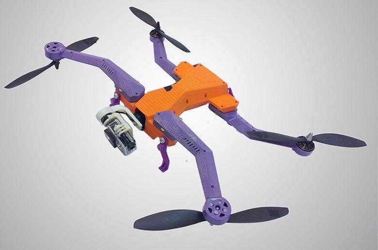 AirDog: Первый в мире автономный дрон для камеры GoPro