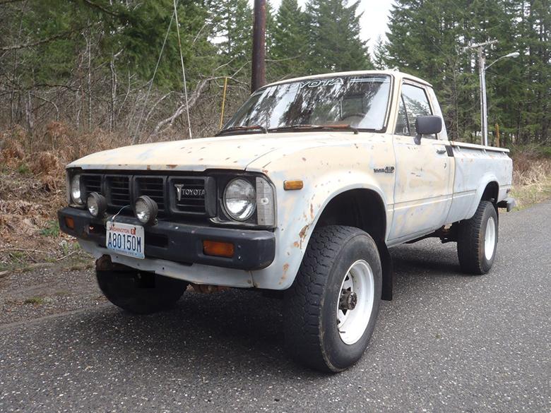 1980's Toyota Truck