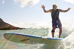 «Голубые зоны» -  книга для тех, кто хочет серфить до ста лет